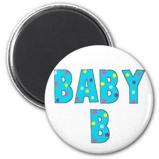 Twins Baby B Brights 6 Cm Round Magnet