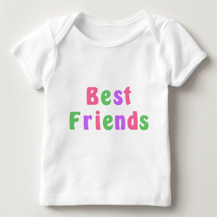 Twins Best Friends Baby T-Shirt