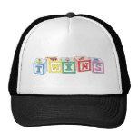 Twins Blocks Graphic Trucker Hat