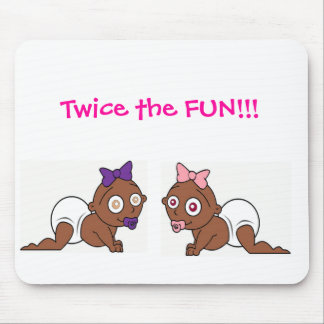 Twins collection 2 mouse pad