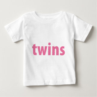 TWINS COLLECTION - girls {pink} Baby T-Shirt