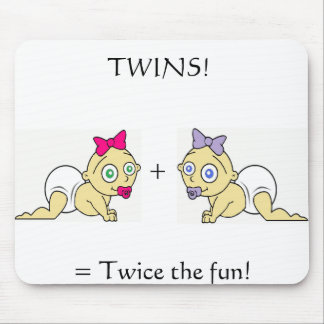 Twins Collection Mouse Pad