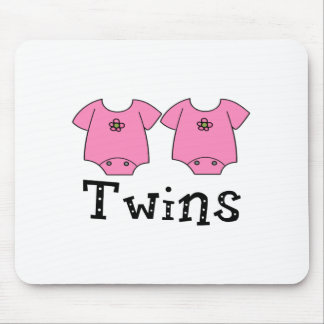 Twins Cute Bodysuit 2 girls Mousepad