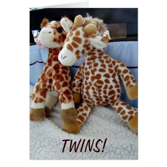 """TWINS"" DOUBLE THE LOVE/FUN CARD"