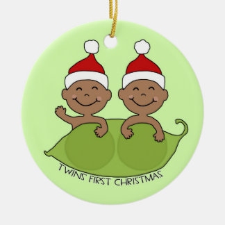 TWINS' FIRST CHRISTMAS CHRISTMAS ORNAMENT
