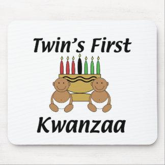 Twins First Kwanzaa Mouse Pad