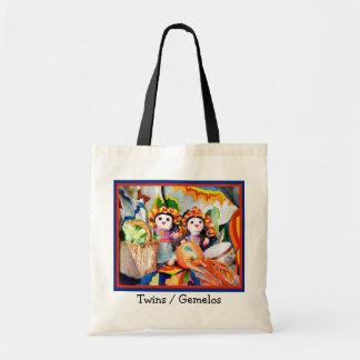 Twins/Gemelos Canvas Bag