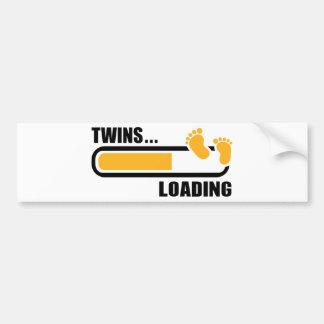 Twins loading bumper sticker