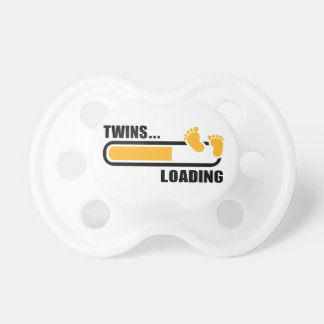 Twins loading BooginHead pacifier