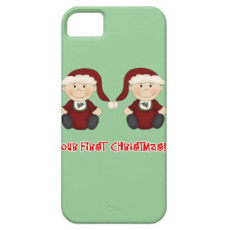 Twins:  Our First Christmas Customizable iPhone 5 Cover
