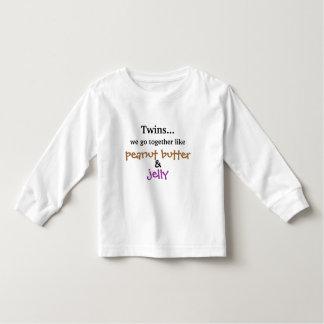 Twins - Peanut Butter & Jelly Toddler T-Shirt