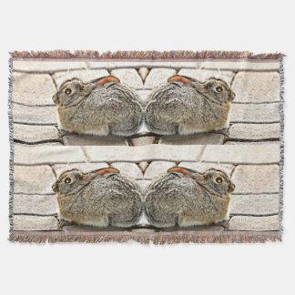 """Twins"" Sonoran Bunnies Custom Blanket"