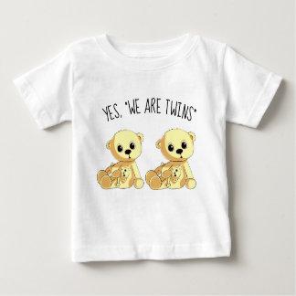 Twins Teddy Bears Shirt