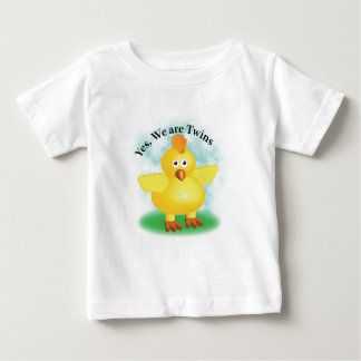 "Twins ""Yes we are Twins"" Baby T-Shirt"