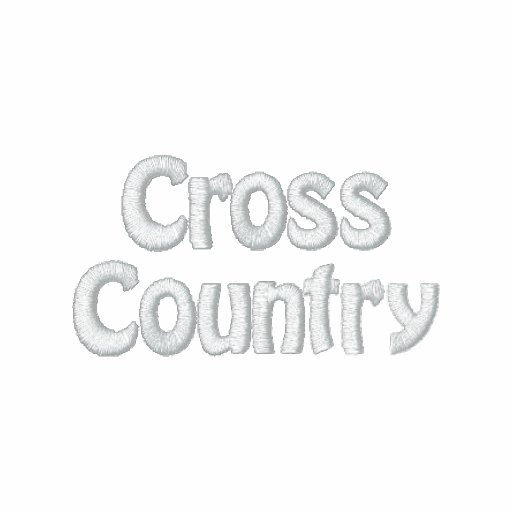 Twinty Foor 7ven - Cross Country Embroidered Hoody