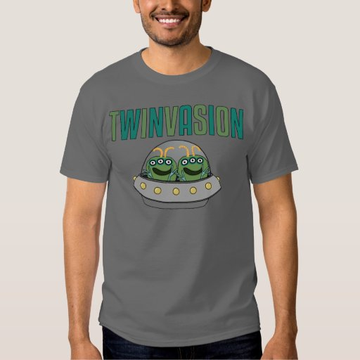 TWINVASION Alien Twins T Shirt