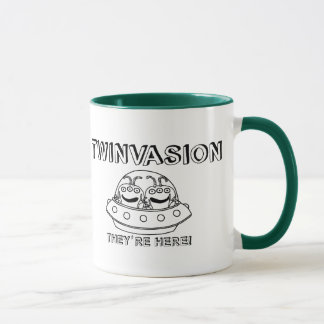 "TWINVASION ""They're Here!"" Mug"