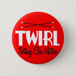 Twirl 6 Cm Round Badge