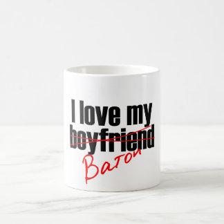 Twirl : I love my Baton Classic White Coffee Mug