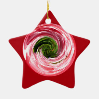 Twirl in the globe christmas ornament