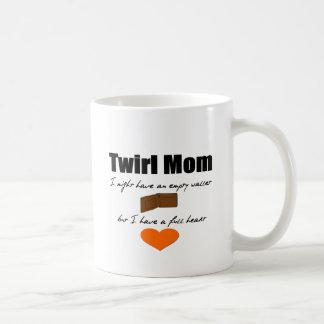 Twirl Mom Empty Wallet Full Heart Coffee Mugs