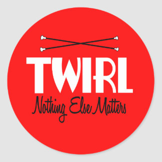 Twirl Round Stickers