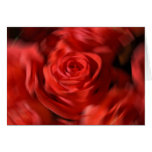 Twirled Roses Greeting Cards
