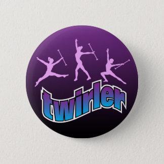 Twirler 6 Cm Round Badge