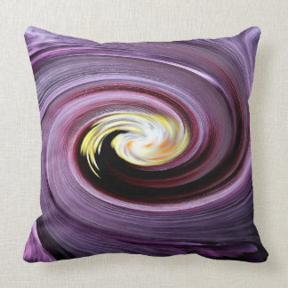 Twirling Flower Throw Pillow Throw Cushions