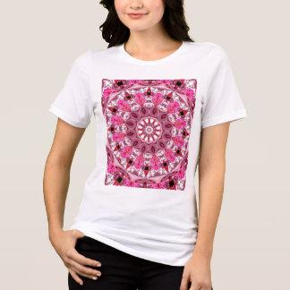 Twirling Pink, Abstract Candy Lace Jewels Mandala Shirts