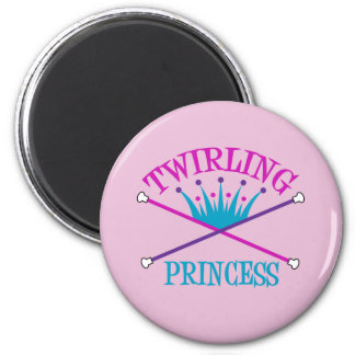 Twirling Princess Magnets
