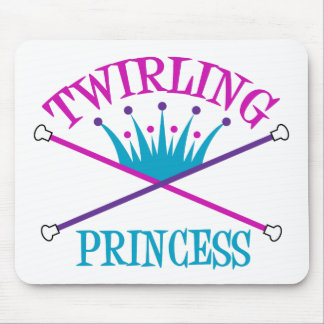 Twirling Princess Mouse Pads