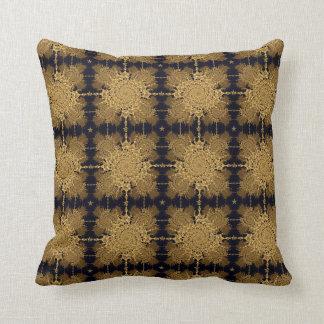 Twirling stars cushion