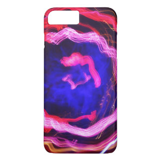 Twirling Swirl of light painting iPhone 7 Plus Case