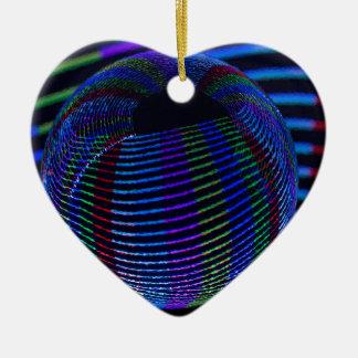 Twirls InThe Ball Christmas Ornament