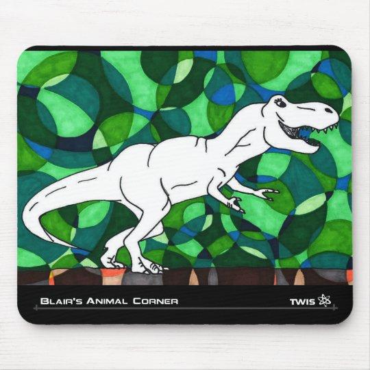 TWIS Mousepad: Blair's Animal Corner T Rex Mouse Mat