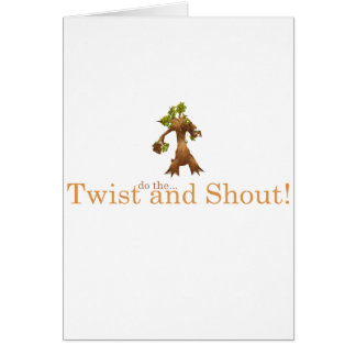 Twist and Shout! Cards