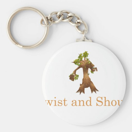 Twist and Shout! Keychain