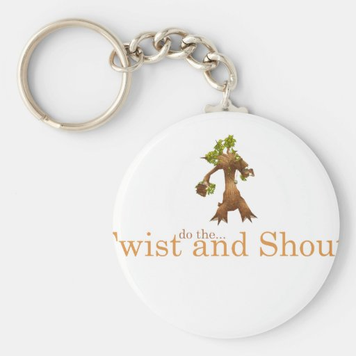 Twist and Shout! Keychains