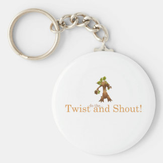 Twist and Shout! Key Chain