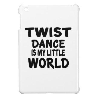 TWIST IS MY LITTLE WORLD iPad MINI COVER