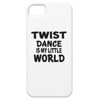 TWIST IS MY LITTLE WORLD iPhone 5 CASE