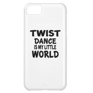 TWIST IS MY LITTLE WORLD iPhone 5C CASE