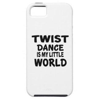TWIST IS MY LITTLE WORLD TOUGH iPhone 5 CASE