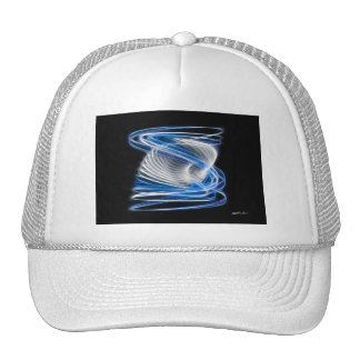 Twisted 1 Blue Mesh Hats
