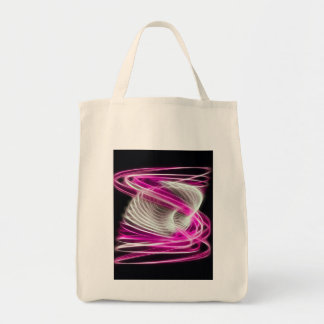 Twisted 1 Hot Pink Tote Bag