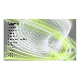 Twisted 1 Lime Double-Sided Standard Business Cards (Pack Of 100)