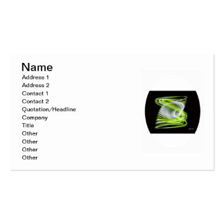 Twisted 1 Lime Pack Of Standard Business Cards