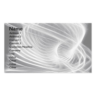 Twisted 1 White Double-Sided Standard Business Cards (Pack Of 100)