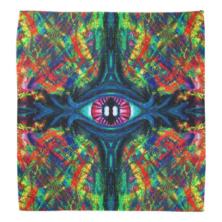 Twisted and Trippy Eyeball bandana